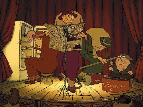 Les Triplettes de Belleville (Sylvain Chomet)