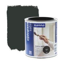 GAMMA Extra Dekkend lak zwart zijdeglans 750 ml   Lakverf voor buiten   Lakken   Verf   GAMMA