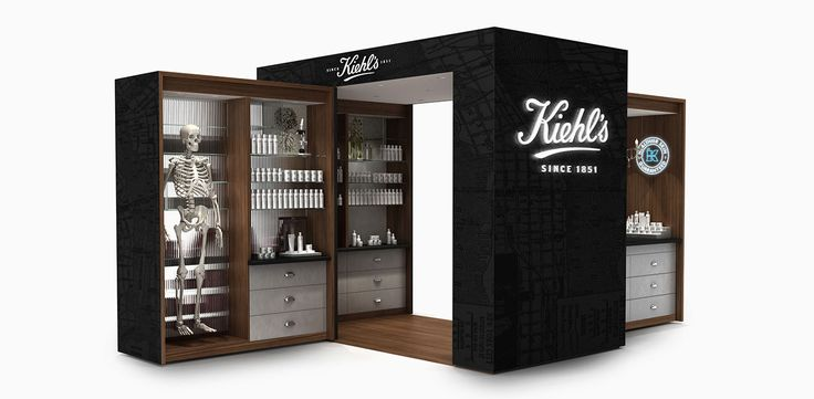aruliden | Kiehl's Pop-Up Store