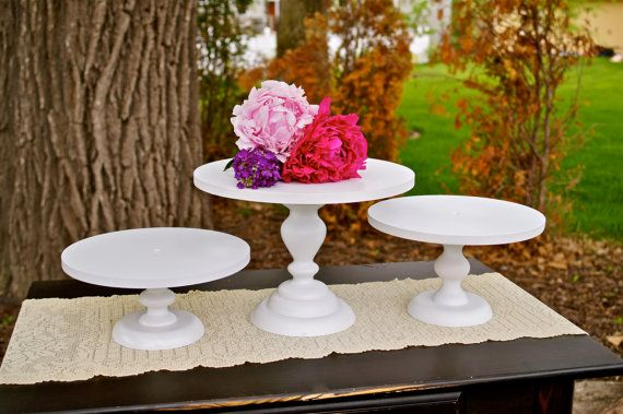 Another odd obsession: cake stands