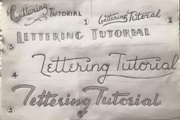 Lettering Tutorial, un site pour les fans de lettering