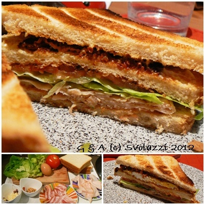 Club Sandwich  http://www.svolazzi.it/2013/01/club-sandwich.html