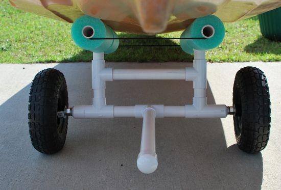 GOING TO MAKE THIS!  Palmetto Kayak Fishing: DIY Bulletproof Kayak Cart - Build Instructions + Pics