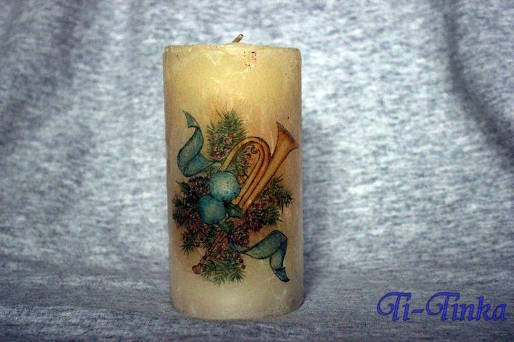 candle by Ti-Tinka