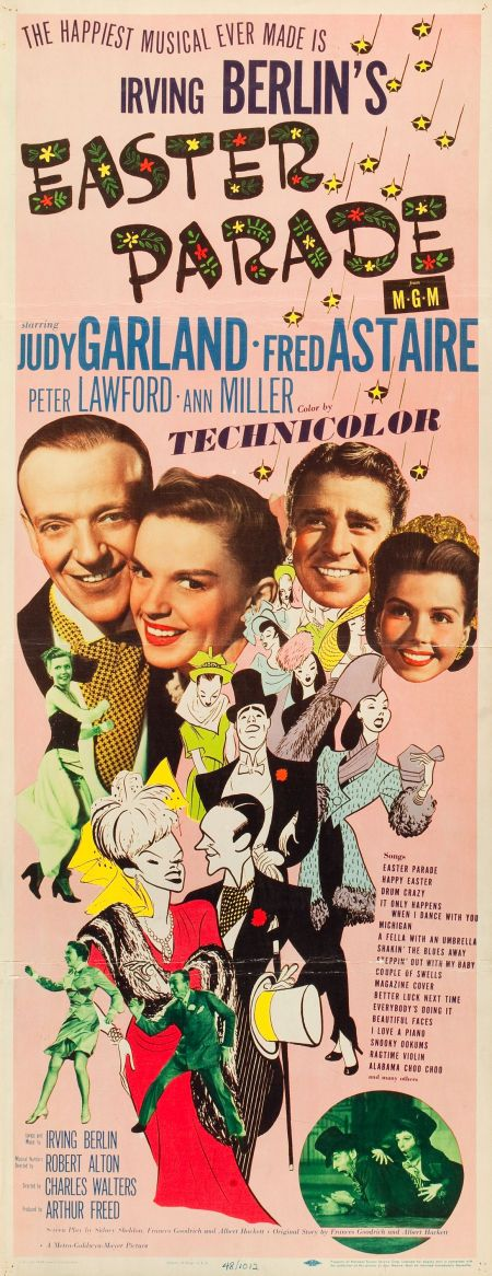 """Movie Posters:Musical, Easter Parade (MGM, 1948). Insert (14"""" X 36"""").. ... Image #1"""