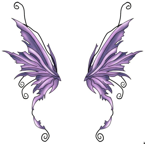 Angel Wing Pattern To Print