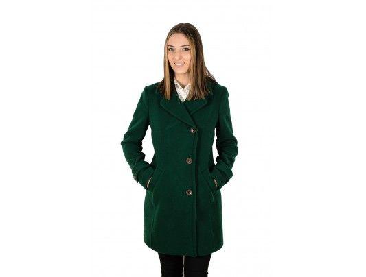 Palton Rochelle Humes verde - 149 lei