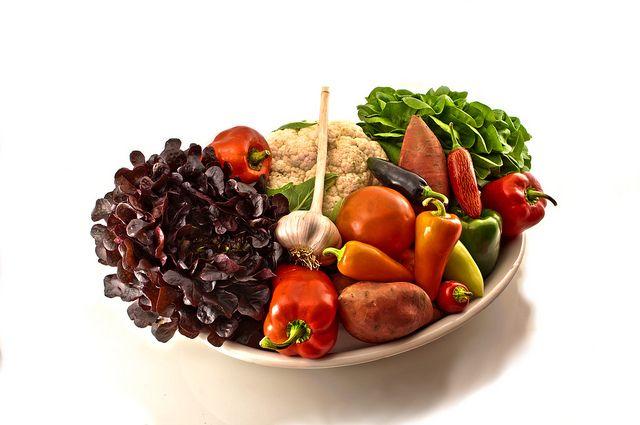 Овощи - сложные углеводы