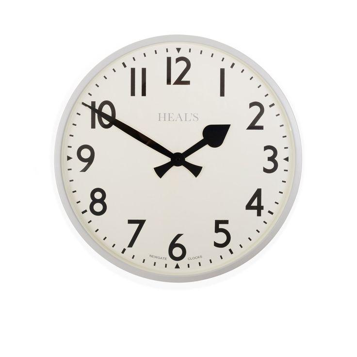 Heal's Putney Grey Wall Clock