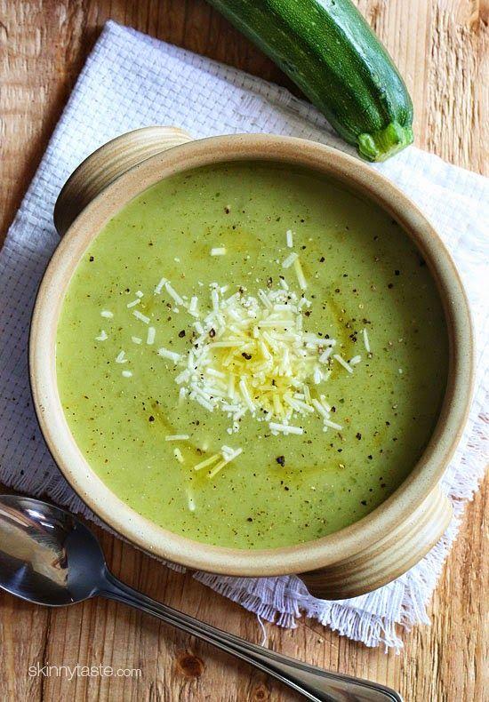 Cream of Zucchini Soup | Skinnytaste