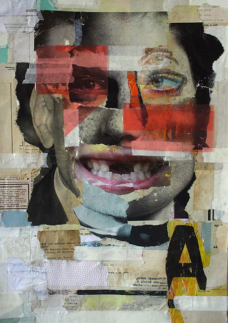 Collage I like this because it remind me of Cavan Huang's work who uses fragments and collages too.