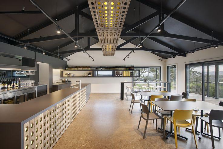 Petaluma Cellar Door by Grieve Gillett Andersen Architects, Adelaide South Australia Photo: David Sievers