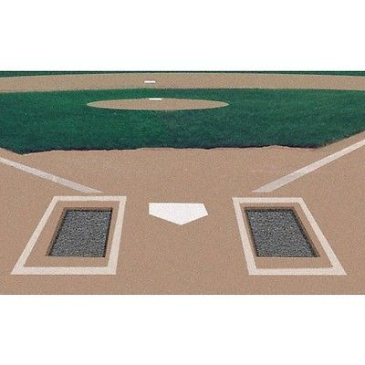 Base Sets and Homeplates 181319: Baseball Batters Box Rubber Mats Foundation Set Of 2 -> BUY IT NOW ONLY: $309.99 on eBay!
