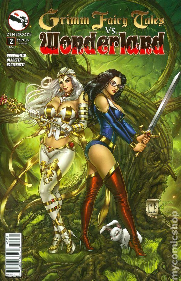 Grimm Fairy Tales Vs Wonderland 2014 2C Mike Krome