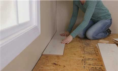 How To Install Laminate Wood Floor Better Homes Gardens