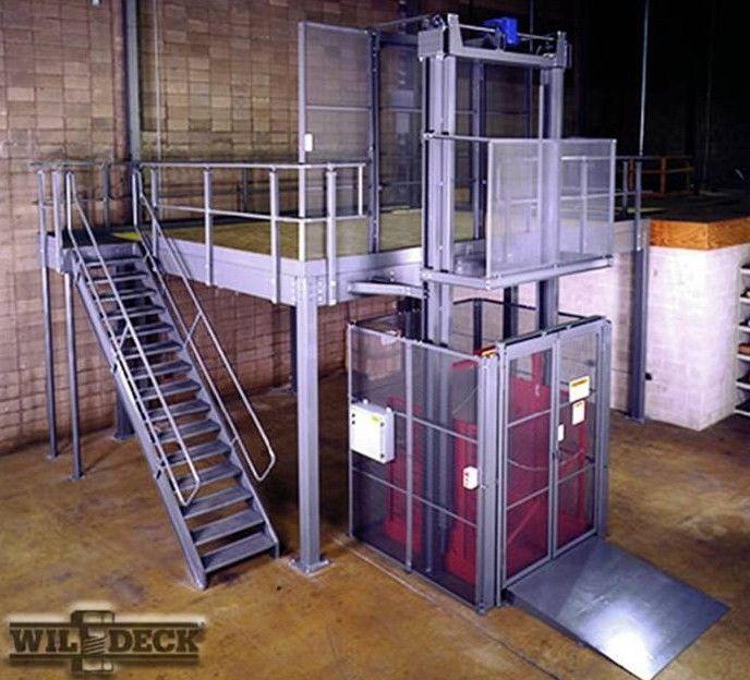 Mezzanine crane lift tapancos prefabricados desarmables mezzanines modulares entrepiso - Mezzanine foto ...