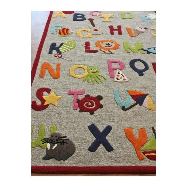 Kinderloom Alphabet Rug. 30 best Alphabet Nursery Ideas images on Pinterest