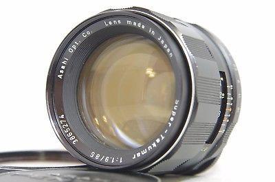 Pentax Super-Takumar 85mm F/1.9 MF Prime Lens SN3865274 for M42 Mount