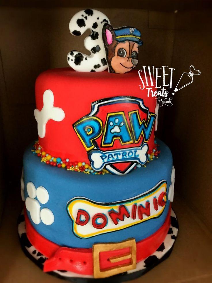 Paw Patrol Birthday Cake #pawpatrolparty