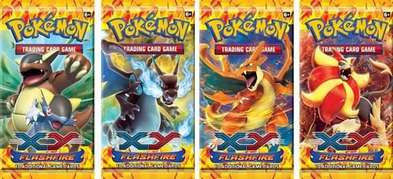 $3.18 Pokemon CCG: XY Flashfire Expansion Booster Pack