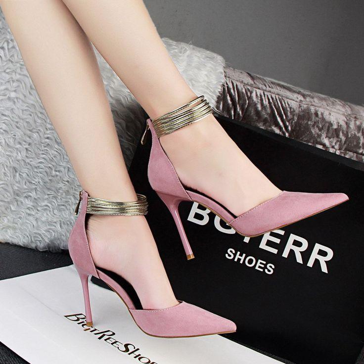 Knöchelriemen High Heels Schuhe
