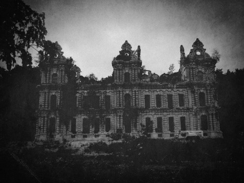 Very Gothic Haunted! An Old School Maybe? Or An Insane