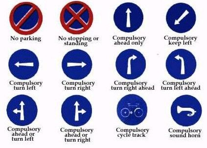 Best Theory Test Help Images On Pinterest Theory Test - Car sign meanings