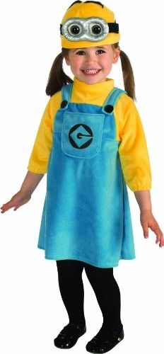 Minion Toddler Costume on www.amightygirl.com