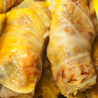 There are many types of cabbage rolls. This is a Turkish version. Turkish Cabbage Rolls Recipe from Grandmothers Kitchen.
