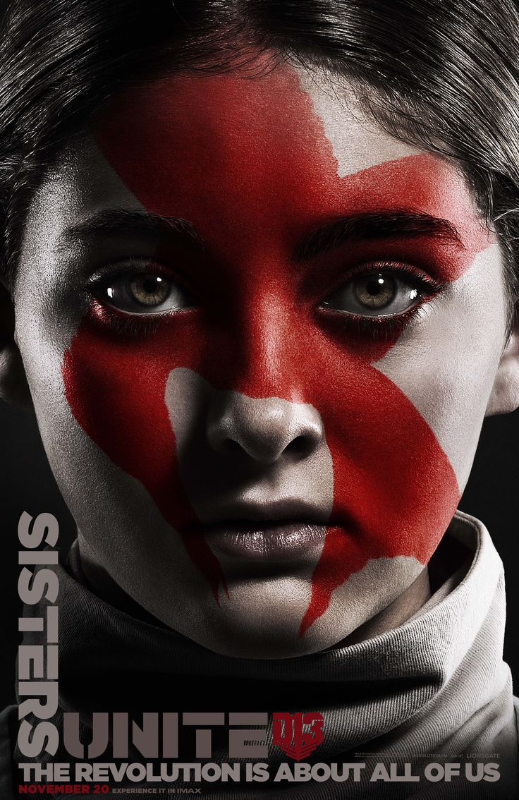 What pictures represent katniss everdeen yahoo answers - Mockingjay Part 2 Faces Of The Revolution Character Posters Kind Patient And Understanding Primrose Everdeen Sister Of The Mockingjay