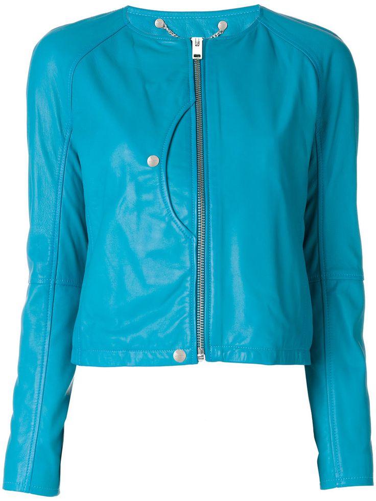¡Cómpralo ya!. Diesel - Zip Up Jacket - Women - Lamb Skin - M. Blue lambskin zip up jacket from Diesel. Size: M. Gender: Female. Material: Lamb Skin. , chaquetadecuero, polipiel, biker, ante, antelina, chupa, decuero, leather, suede, suedette, fauxleather, chaquetadecuero, lederjacke, chaquetadecuero, vesteencuir, giaccaincuio, piel. Chaqueta de cuero  de mujer color azul marino de Diesel.