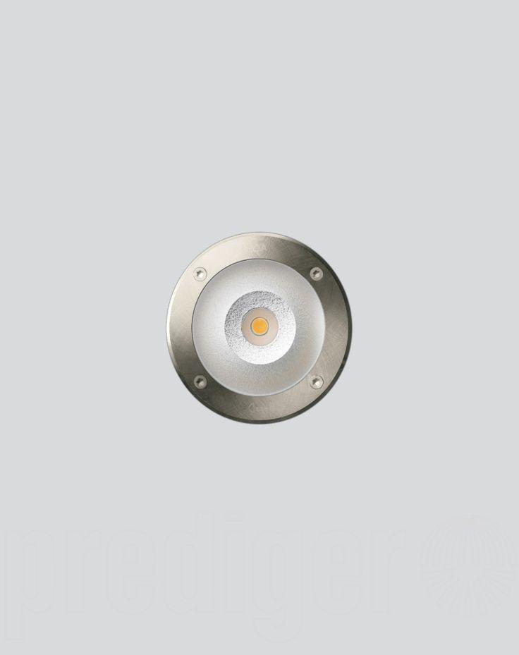 Bega Bodeneinbauleuchten EDELSTAHL trittfest - symmetrische Lichtverteilung mit LED