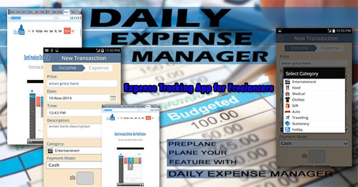 Expense tracking app for freelancers will allow you to find ways to analyze and understand areas in your work http://goo.gl/nN5jNe