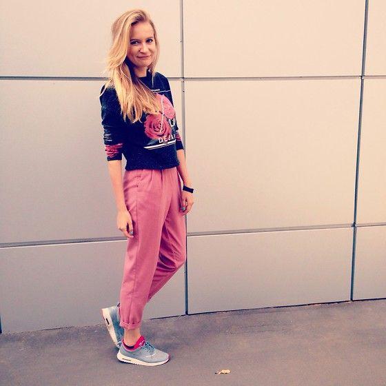 Повседневный образ от Mila Mio (Москва):  Кроссовки - Nike, брюки - ASOS.