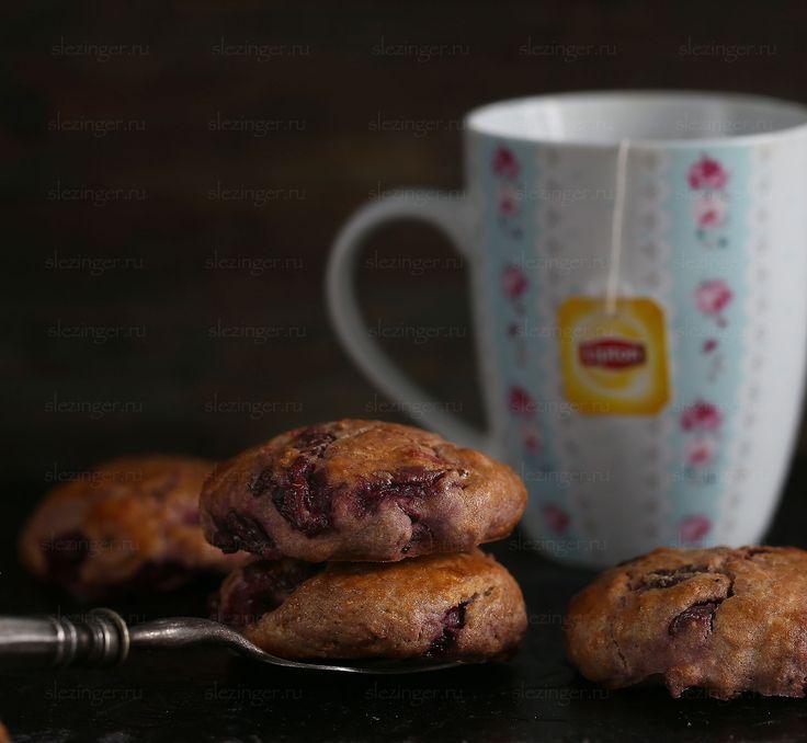 Диетические английские булочки сконы с вишней | Рецепты правильного питания - Эстер Слезингер