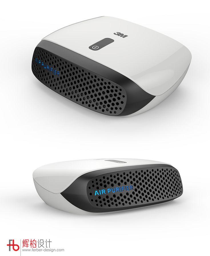 3M Car air purifier design