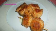 Spiedini di pollo farciti