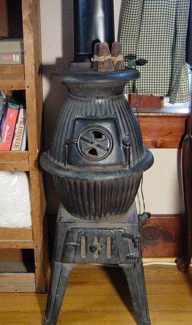 Pot belly stove