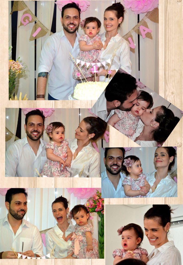 Felicidade com nossa princesa!