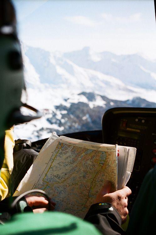 Maps & mountains