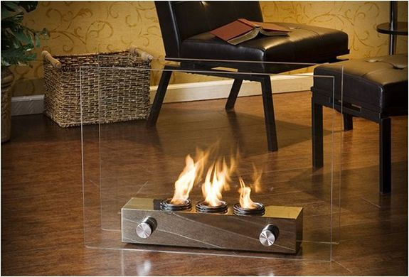 Portable Gel Fireplace $158
