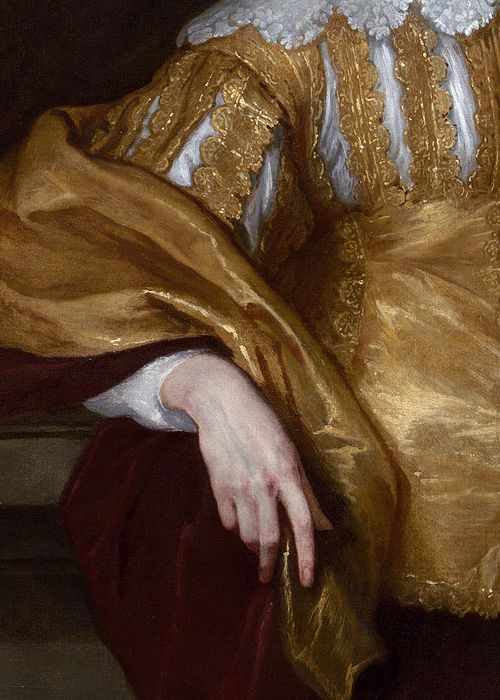 Anthony van Dyck, Lord John Stuart and Lord Bernard Stuart (detail), ca. 1638 (x)