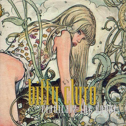 "Milo Manara 2003 Biffy Clyro - Eradicate The Doubt (7"") [Beggars Banquet BBQ 374] #albumcover #comics"