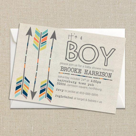 best 25+ boy shower invitations ideas on pinterest | baby boy, Baby shower invitations