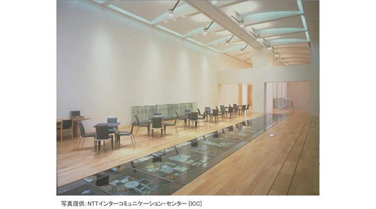 日本の電話事業100周年(1990年)の記念事業として、1997年4月19日、西新宿の東京オペラシティタワーにオープンした文化施設。バーチャルリアリティやインタラクティブ技術などの最先端電子テクノロジーを使ったメディアアート作品などを紹介。また、ワークショップ、パフォーマンス、シンポジウムなども開催している。ほぼ1年を