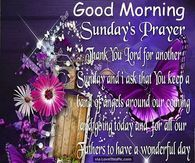 Good Morning Sunday Prayer
