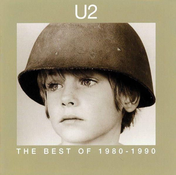 "Compilado ""The Best of 1980 - 1990 "" - U2 - 1998"