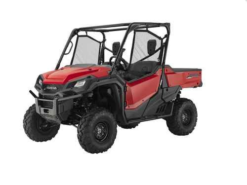 New 2016 Honda Pioneer 1000 Red ATVs For Sale in Alabama. 2016 Honda Pioneer 1000 Red, 2016 Honda Pioneer 1000 - Not Just Bigger: Better. The outdoors is meant to be explored. The highest hills, the deepest canyons, and the farthest reaches of the forests all lie in wait. And now, we bring you an entirely new vehicle that can get you there. The all-new Pioneer 1000 is the world s preeminent side-by-side, both in the Honda lineup, and the industry. Built around a class-leading 999 cc…