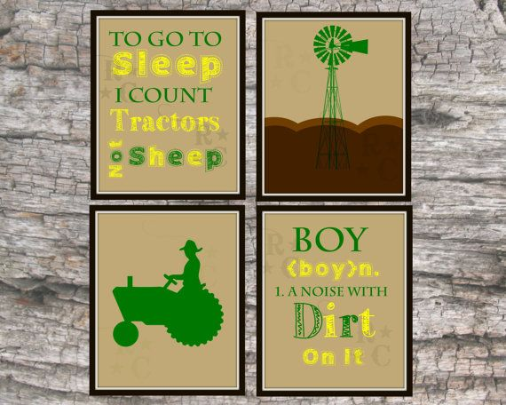 Hey, I found this really awesome Etsy listing at https://www.etsy.com/listing/195932722/kids-boys-farm-bedroom-nursery-prints