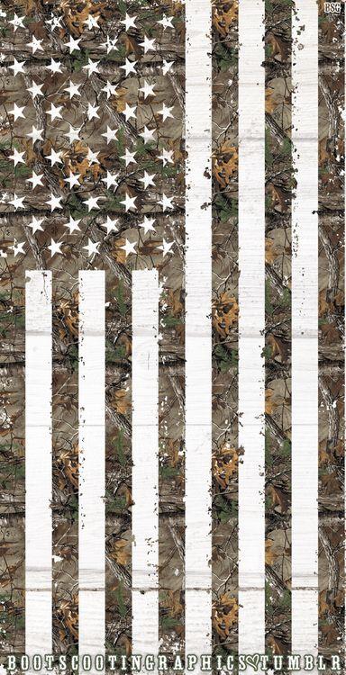 American Flag Camo iPhone wallpaper